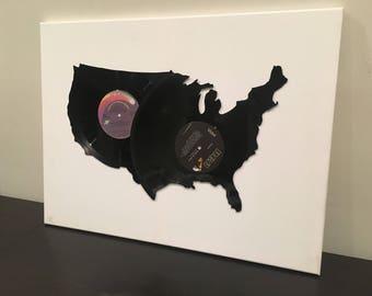 USA Vinyl Record Art