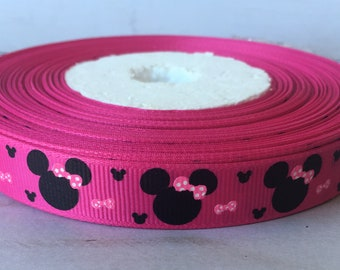 5/8 Minnie Mouse  INSPIRED Ribbon