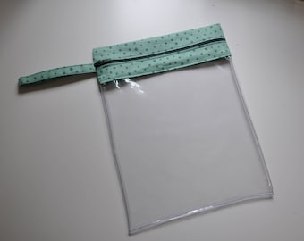 Zipped Clear Project Pouch Kit