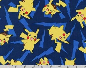 Pokemon - Pikachu Lightning Blue by The Pokemon Co. from Robert Kaufman