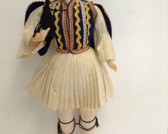 Greek souvenir male doll