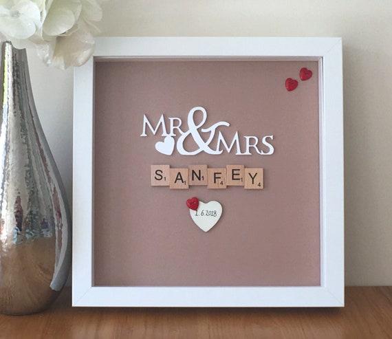 Personalised wedding gift frame wedding gift wedding gift