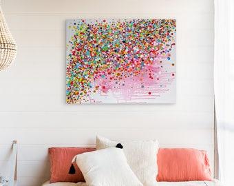 Painting, Modern Art, Wall Art Decor, Original Abstract  - River of Bliss