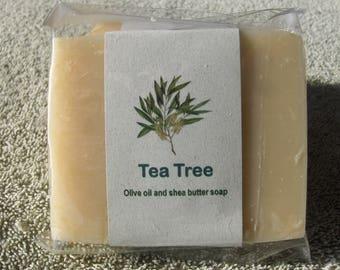 TEA TREE - Bountiful handmade soaps