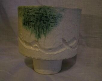 Japanese Pottery Vase Primitive