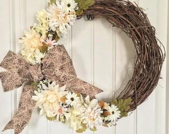 Charming Floral Wreath