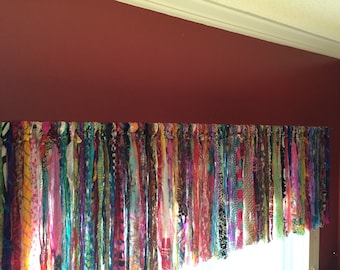 bohemian curtains with valance