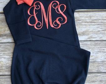 Newborn Girl Personalized Baby Girl Coming Home Outfit  Newborn Girl Outfit Baby Girl Clothes Newborn Girl Clothing Baby Gift
