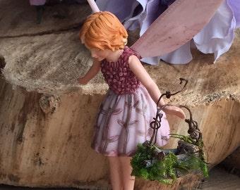 Fairy Accessories ~ Tiniest Basket By Olive, Fairy Houses Fairy Garden,  Fairies, Fairy