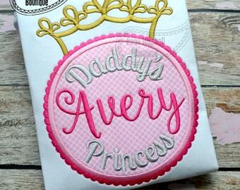 Daddy's Princess applique