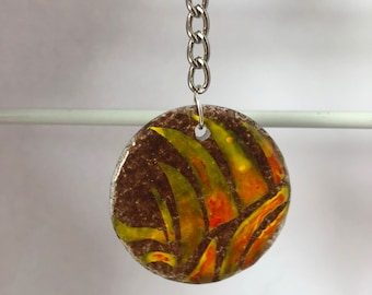 Natural Elements Glass Charm (Fire)