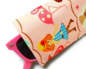 Soft Case For Sunglasses Eyeglasses Alice In Wonderland Japanese Fabric Pouch Reading Glasses Kids Teens Reading Glasses Holder