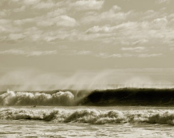 Timing it Right - Rockaway Beach, NY - surfing photo
