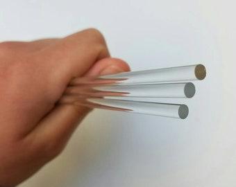 "Slime Stir Stick **10"" acrylic sticks** 6 included"
