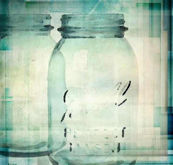 "Jars Art. Canvas Print by Irena Orlov 24x24"""