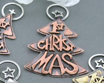 Christmas Ornament - Copper