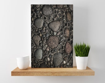 counterparts // abstract photography canvas print // large abstract wall art // abstract art print // stone architecture photography // bali