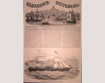 New York – New York – Caloric Ship - Ericsson – 1853