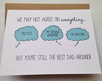 Cool Birthday Cards For Dad ~ Dad card happy birthday dad father s day card card