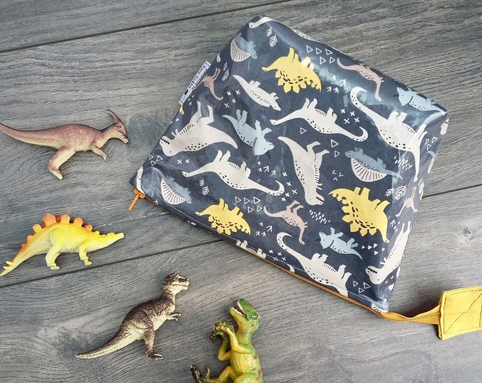 Limited Edition Dinosaurs wipe clean wash bag