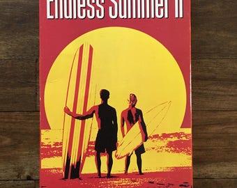 Vintage VHS - Endless Summer II surf video