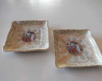 USA M and R Romance Trinket Dishes