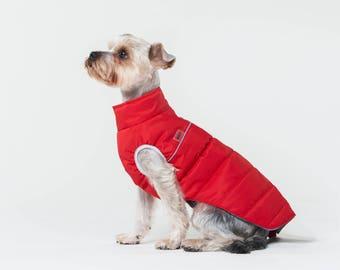 YORKSHIRE TERRIER warm jacket, warm jacket, winter jacket, jacket for dog, dog jacket, dog wear, gift, dog clothes