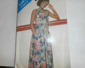 Butterick See & Sew Sewing Pattern 5391 Woman's Dress Size 6-8-10