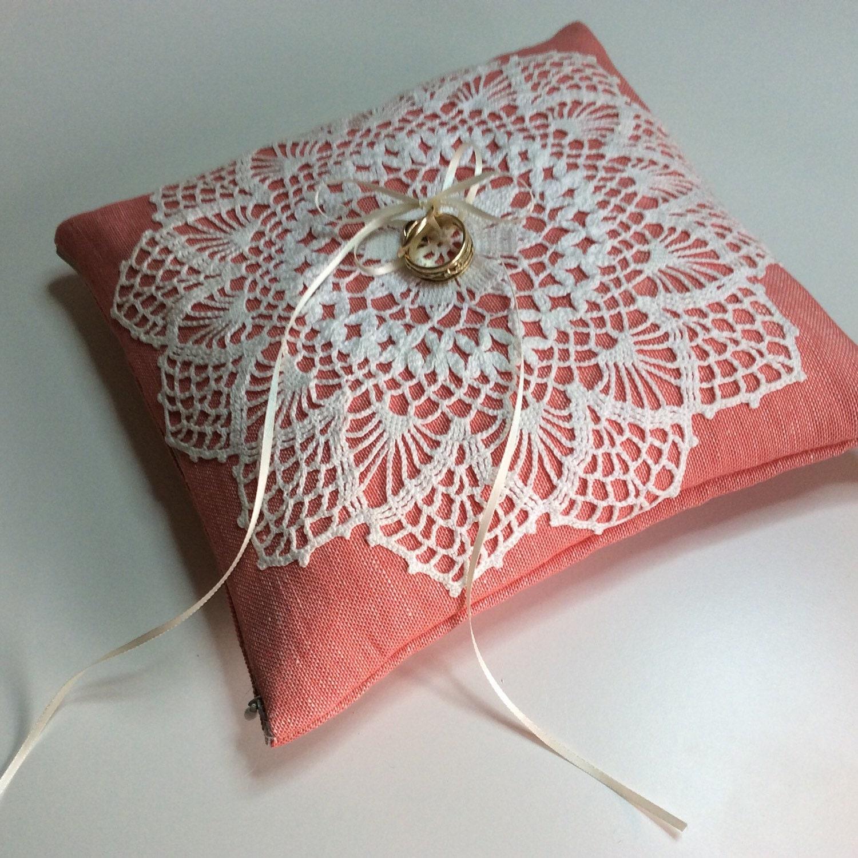 Ring bearing pillow cushion