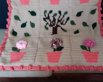 Crochet Flower Field