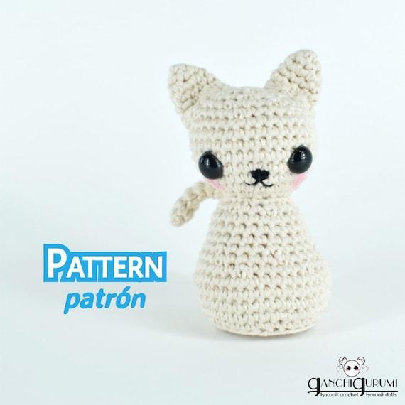 Gato amigurumi gatitos patrón amigurumi patrón crochet