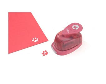 Picture Punch Dog Paw Paper Punch, 5/8 Inch - Scrapbooking and Cards