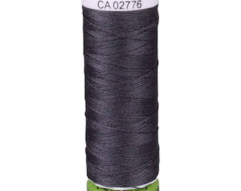 Charcoal Grey Gutermann Recycled Polyester Thread (GT36)