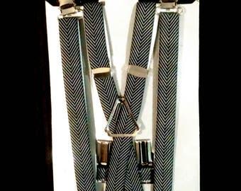"""Herringbone Suspenders - 1/2"""""""