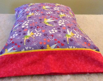 Pillowcase Tinkerbell  Pink and Purple