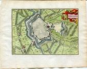 1634 Nicolas Tassin Map O...