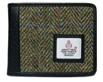 Harris Tweed Wallet -Trifold