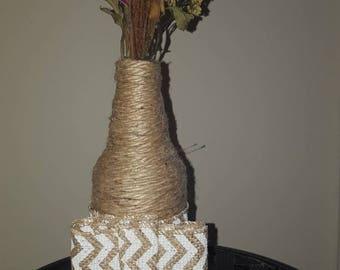 Bowtie Rustic vase