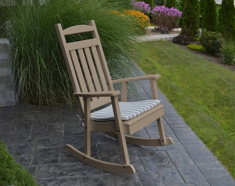 Classic Rocking Chair - FREE Shipping - Poly Lumber