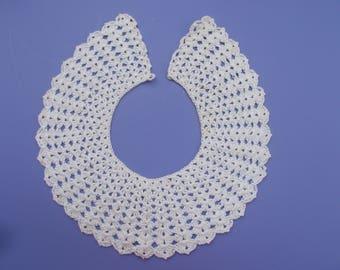 crochet coller