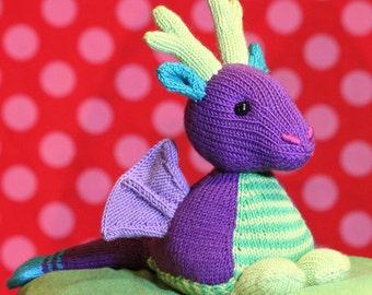 Martin the Dragon knitting pattern