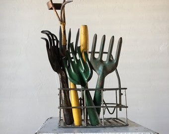 Vintage Rustic Hand Tool for Spring Gardening - Your Choice