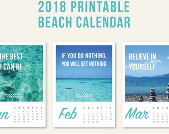 Beach items on desk | Etsy