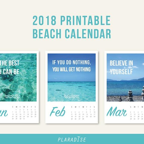 summer 2018 blank calendar