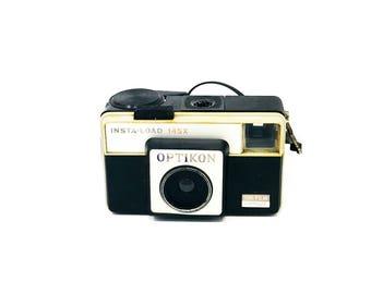 Vintage Camera - Optikon Camera - Insta Load - 145x - Film Camera - Antique - Vintage Photography - Photography Equipment