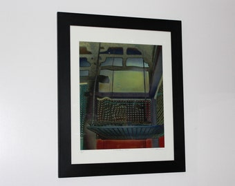 Limited Edition Print - A Wrinkle in Time - Matted and Signed by Artist Chris Scheel- 24 x 30 Edition Size of 25