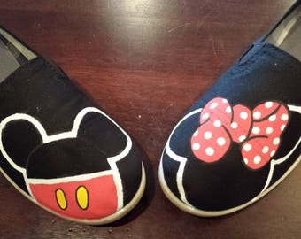 Mickey and Minnie shoe