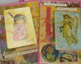 2 x small ephemera booklets