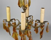 Chandelier, Small Bronze ...