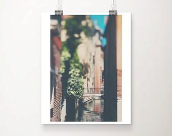 Venice photograph travel photography bridge photograph canal photograph Venice art wanderlust art Venice decor Italy photograph